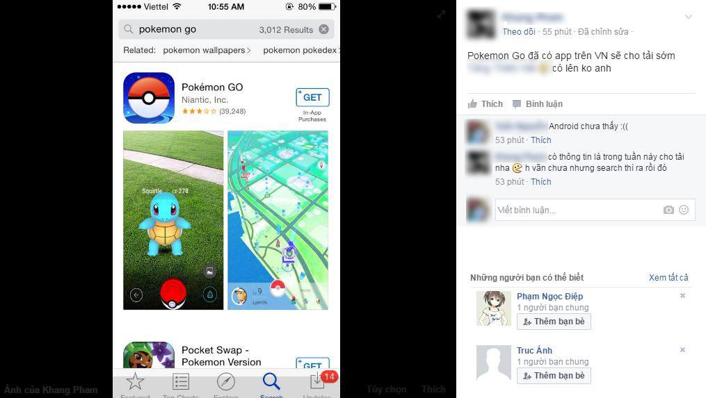 """Niantic đã bỏ chặn tại Việt Nam, Pokemon Go vẫn tiếp tục """"sập"""""""