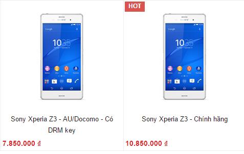 Tại sao smartphone cao cấp xách tay lại rẻ được đến vậy?