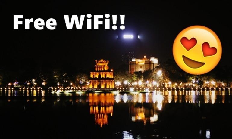 Hà Nội đang dần được phủ sóng Wifi miễn phí!