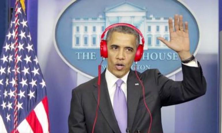 Âm nhạc ngày và đêm ngược nhau chan chát của Tổng thống Obama