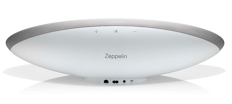 B&W làm mới Zeppelin Wireless bằng phiên bản màu trắng
