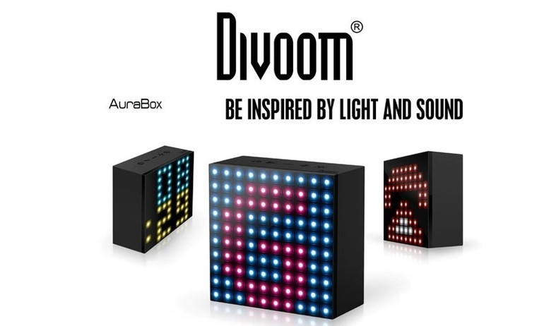 Divoom ra mắt loa AuraBox, trang bị đèn LED siêu độc đáo