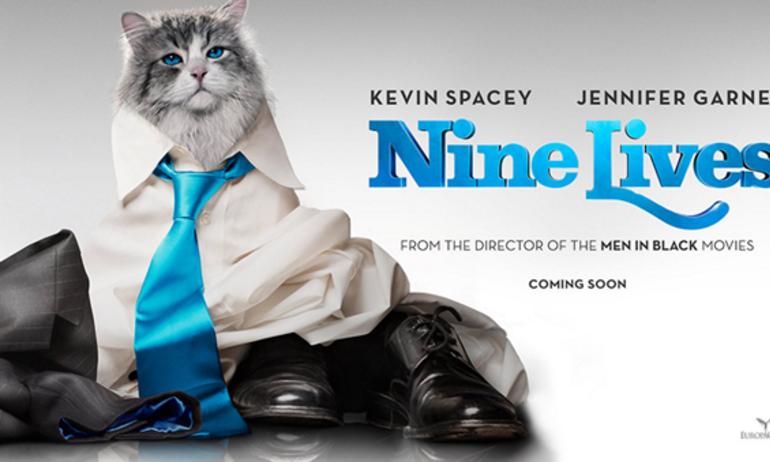 Nine Lives: Vì sao bố lại hóa thành mèo?