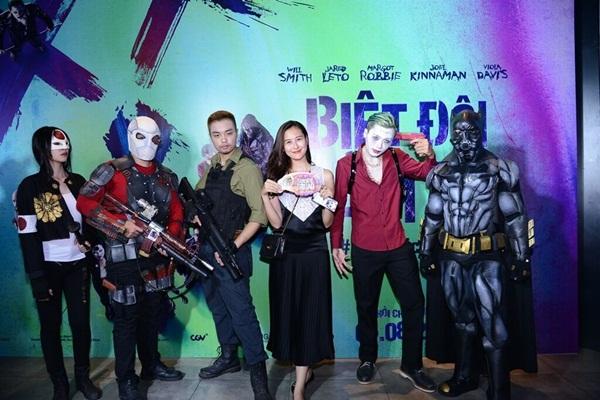 """Họp báo """"Suicide Squad"""": Sao Việt háo hức gặp Biệt Đội Cảm Tử"""