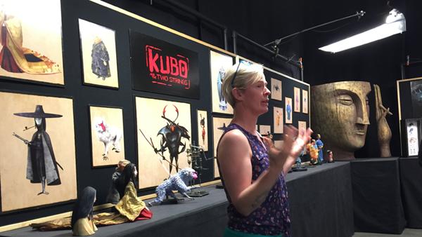 Kubo Và Sứ Mệnh Samurai quay stop-motion bằng con rối cao 5m
