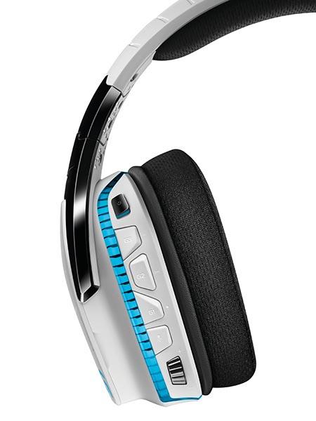 Logitech làm mới mẫu tai nghe 7.1 G933 với phiên bản màu trắng