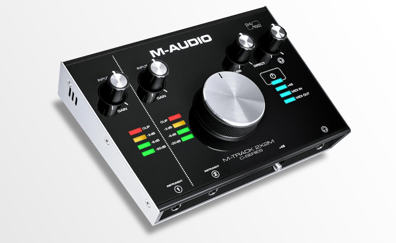 M-Audio ra mắt bộ đôi Audio Interface 2X2 & 2X2M hỗ trợ chuẩn USB-C