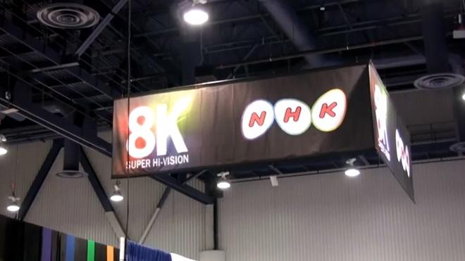 Đài NHK Nhật bản bắt đầu cung cấp truyền hình 8K đầu tiên thế giới