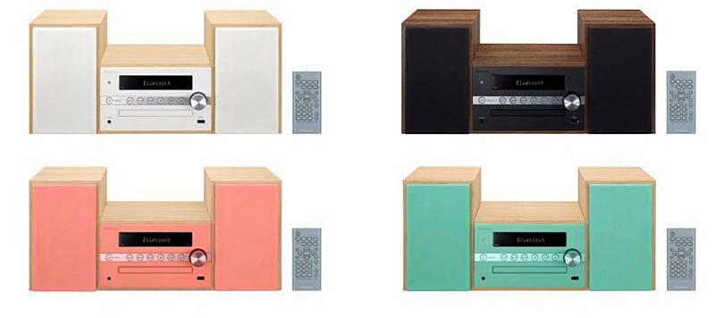 Pioneer trình làng dàn âm thanh mini X-CM56 với 4 màu sắc trẻ trung