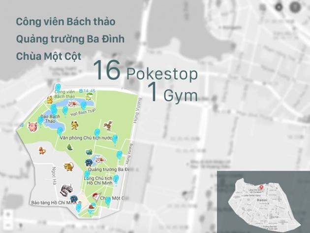 Ở Việt Nam, đi đâu để bắt Pokemon vui nhất?