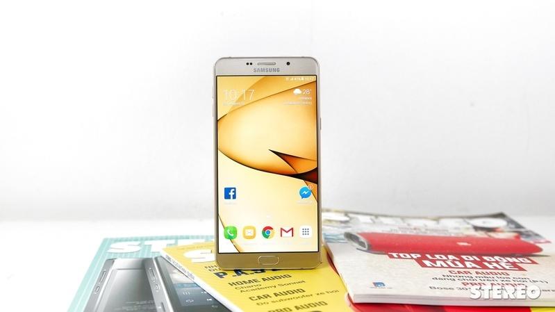 """Mở hộp Galaxy A9 Pro 2016: Siêu phablet pin """"trâu"""", camera đẹp"""