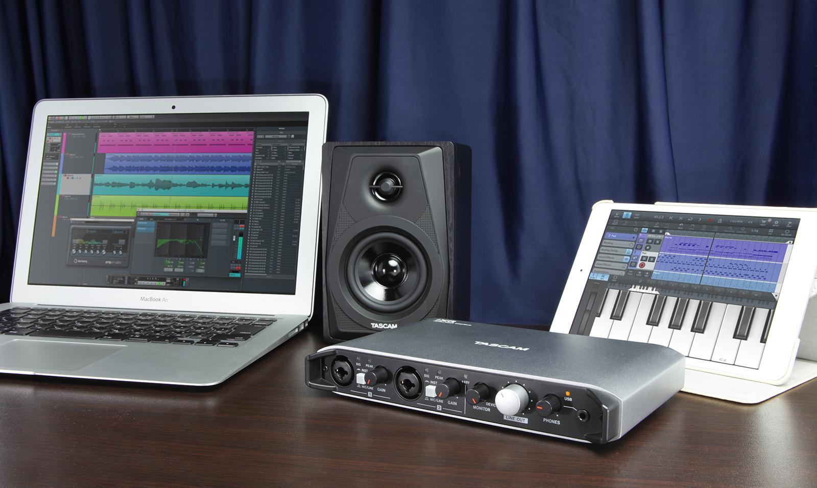 Tascam ra mắt iXR – audio interface chất lượng cao dành cho iOS