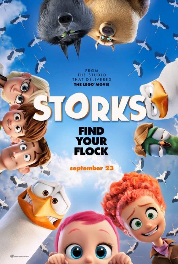 """Vén màn bí mật dịch vụ vận chuyển em bé trong """"Storks"""""""