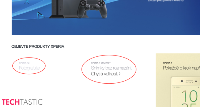 Xperia X Compact lộ diện, ra mắt cùng Xperia XZ tại IFA 2016