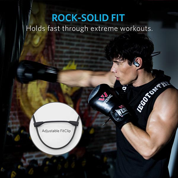 Anker ra mắt tai nghe Bluetooth chống nước giá rẻ SoundBuds Sport NB10