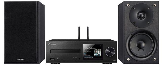 Pioneer giới thiệu 3 dàn mini X-HM76, X-HM76D và X-HM86D