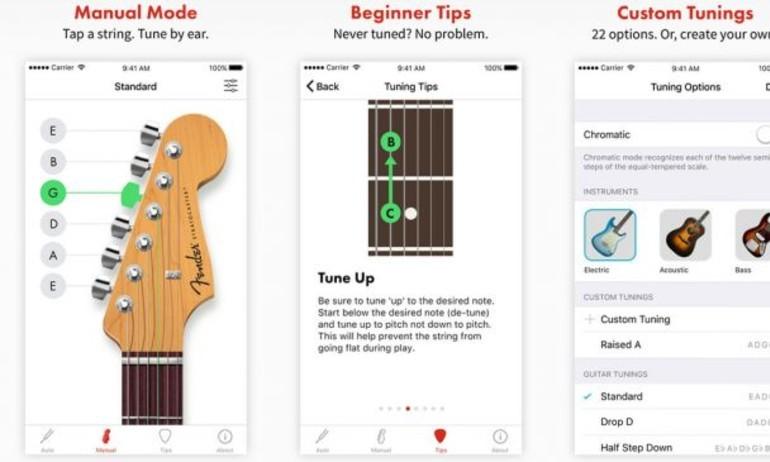 Fender ra mắt ứng dụng tune dây đàn trên iOS để … cạnh tranh với Boss