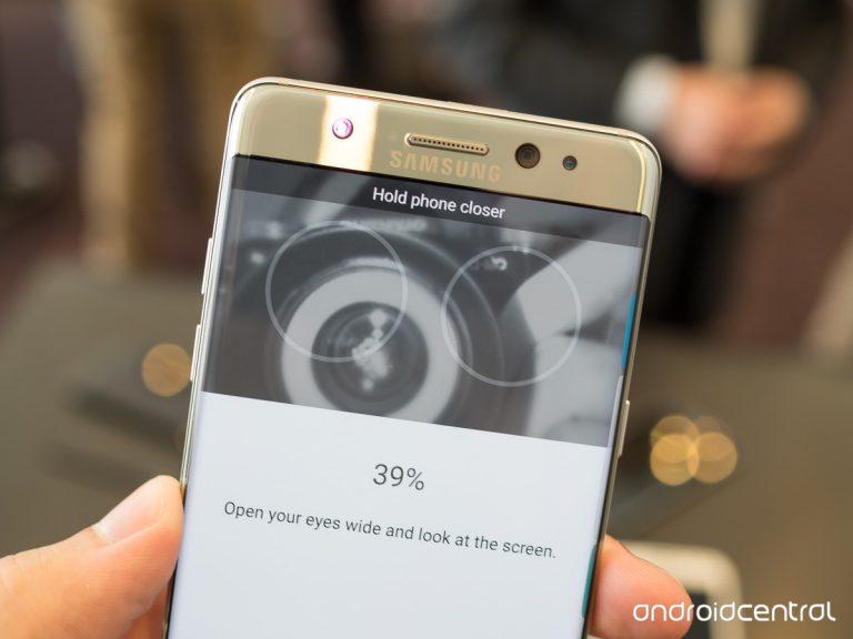 Galaxy Note 7: Bảo mật bằng mắt, chống nước, thiết kế không mới