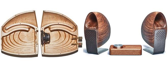 Grovemade ra mắt hệ thống loa làm từ gỗ nguyên khối