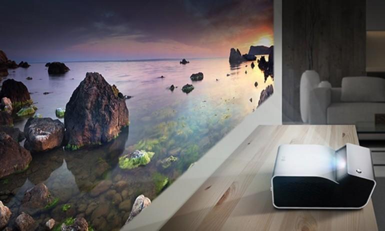 LG ra mắt 2 máy chiếu tầm gần, hình ảnh rộng 80-100inch