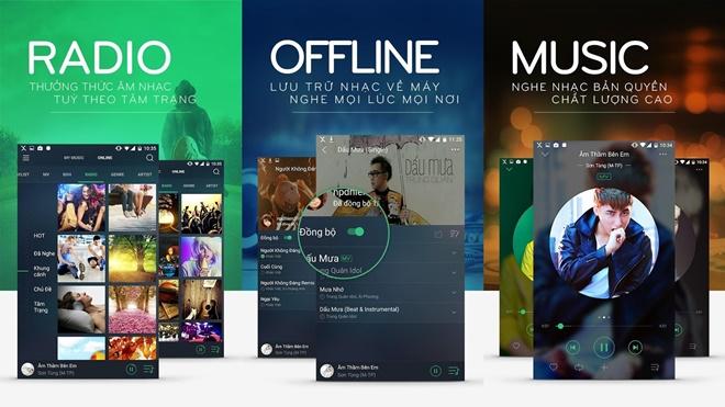 Nhaccuatui.com chính thức ra mắt ứng dụng Xmusic nghe nhạc bản quyền