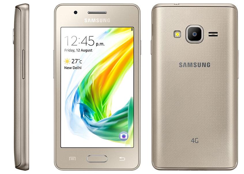 Samsung Z2 ra mắt: Làm mới Tizen, cấu hình thấp, giá siêu rẻ