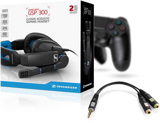 Sennheiser tiếp tục giới thiệu tai nghe chơi game phổ thông GSP 300