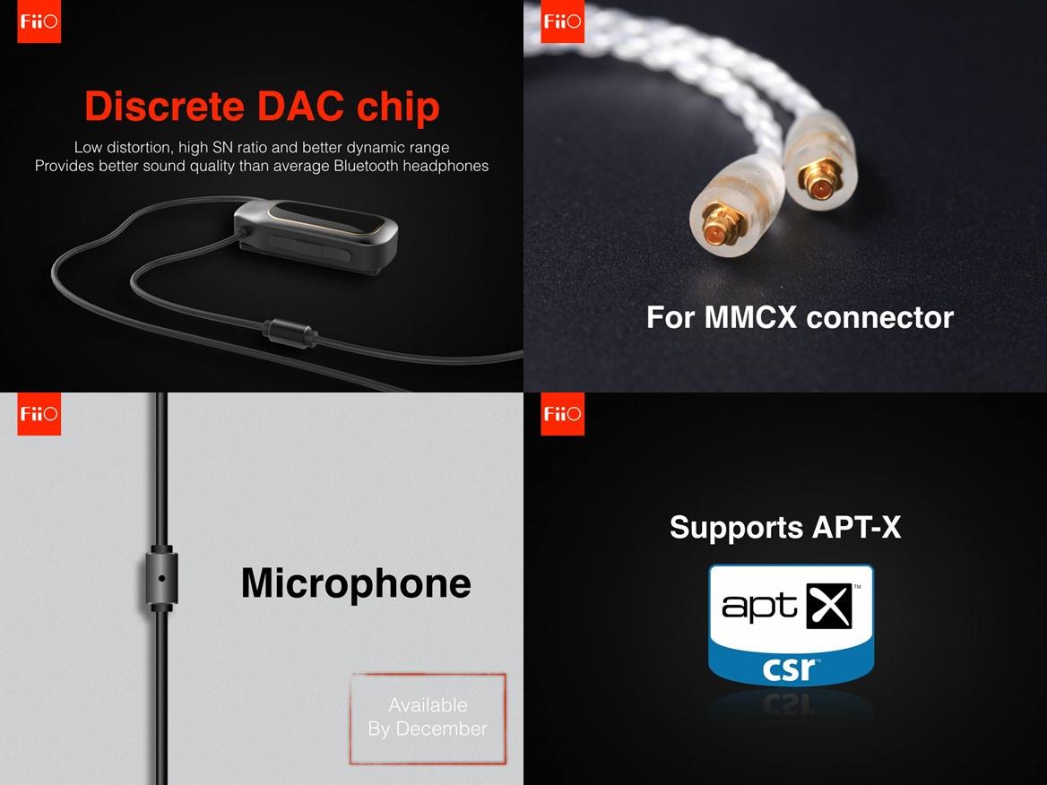 Fiio ra mắt bộ ba giải pháp âm thanh Lightning cho iPhone 7: i1 – iF1 & BTC-MMCX