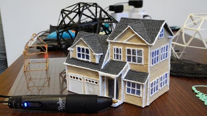 Bút vẽ 3D 3Doodler Pro không còn chỉ là trò chơi trẻ con