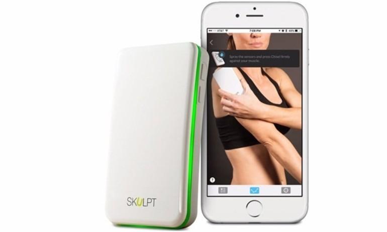 Dân thể hình sẽ mê tít với máy đo cơ bắp và mỡ Skulpt Scanner