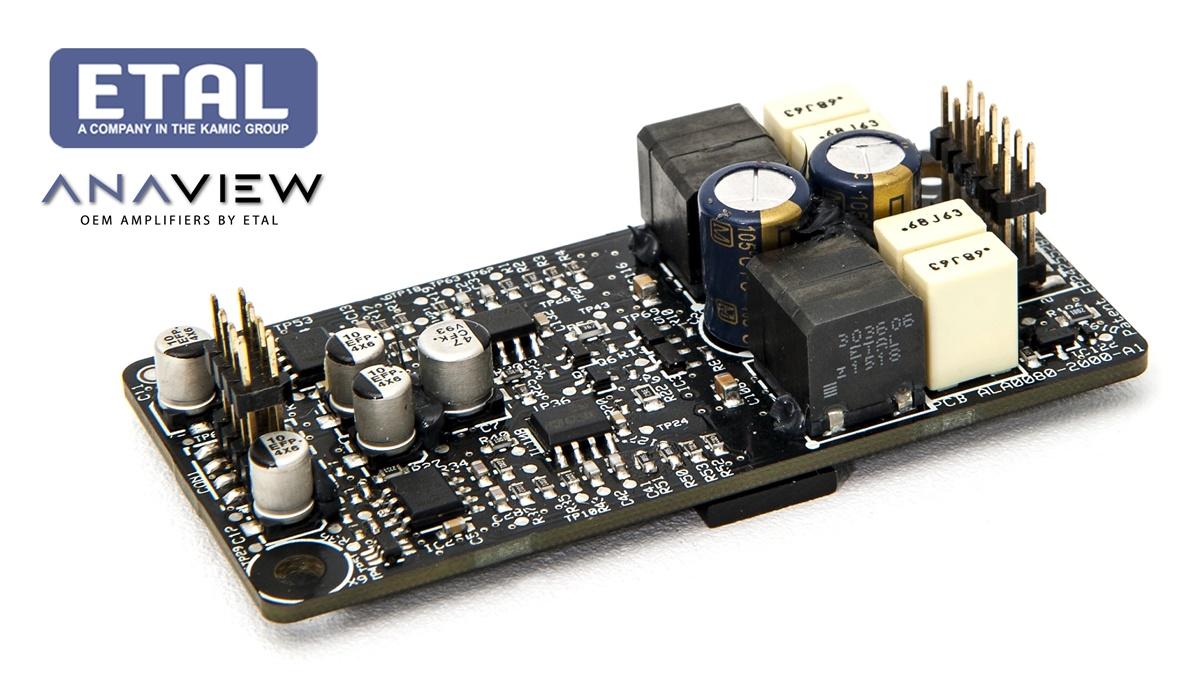 ETAL giới thiệu ampli class D 90W, nhỏ hơn cả một chiếc name card