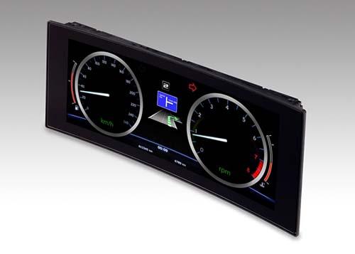 JDI ra mắt panel LTPS IPS LCD cong dành cho ô tô thông minh