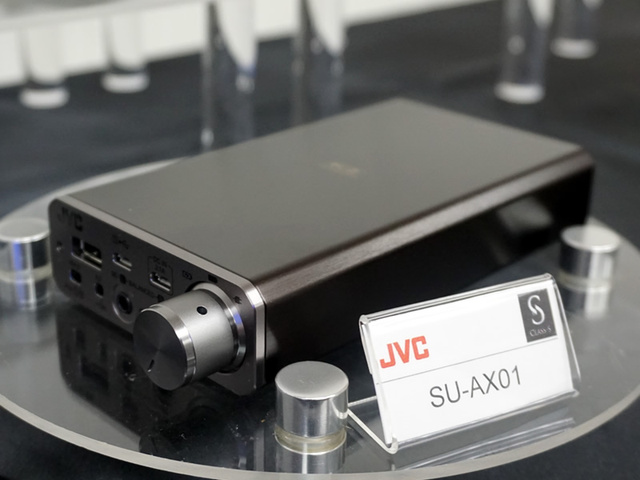 JVC SU-AX01 – Class-S headamp/DAC cao cấp, giá 24 triệu đồng