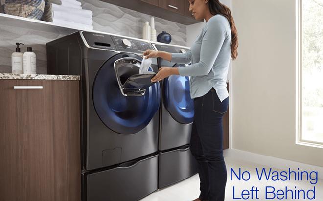 Samsung AddWash: Thêm đồ thoải mái kể cả khi đang giặt