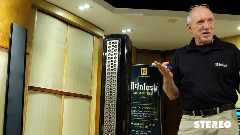Chuyên gia McIntosh chia sẻ kinh nghiệm sử dụng thiết bị hi-end tại Đông Thành – Hòa Phúc