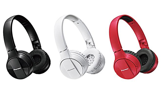 Pioneer SE-MJ553BT – tai nghe bluetooth đa màu sắc, giá 1,5 triệu đồng