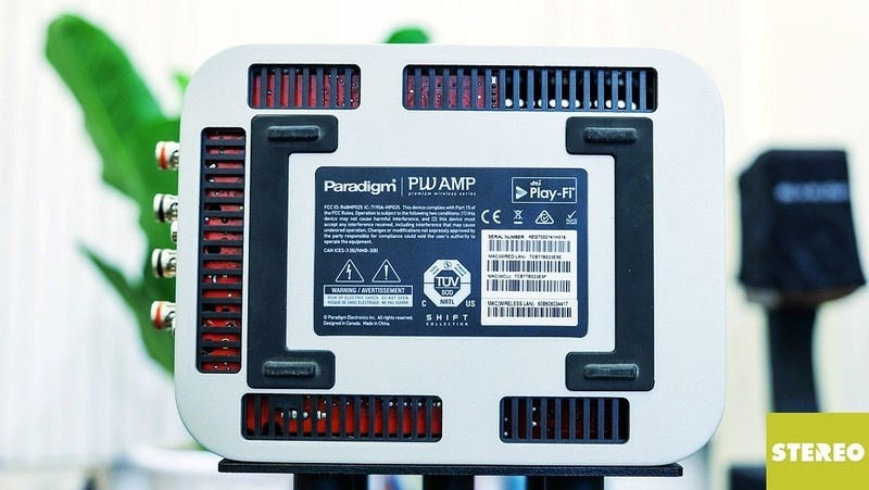 Trên tay Paradigm PW Amp: Nhỏ gọn nhưng đầy sức mạnh