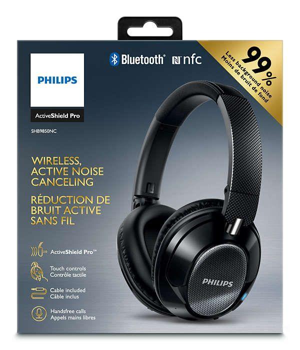 Philips ra mắt tai nghe chống ồn không dây SHB9850NC, giá 6,7 triệu đồng