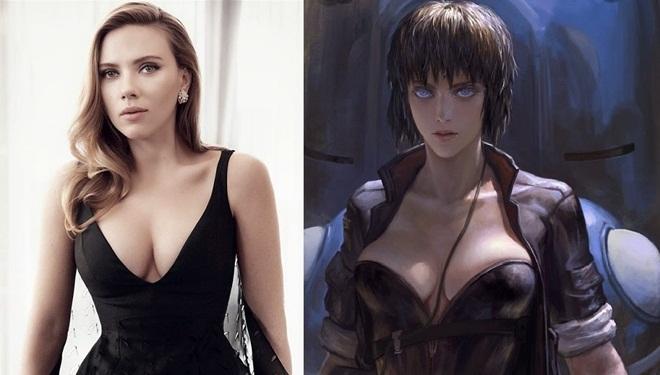 """Scarlett Johansson làm """"kẻ hủy diệt"""" mới trong Vỏ Bọc Ma"""