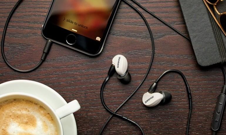 Shure giới thiệu SE215m+SPE: tai nghe in-ear cách âm siêu tốt