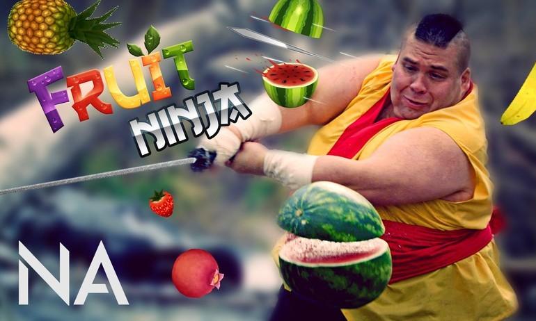 Sau Angry Birds, Fruit Ninja cũng đòi lên màn ảnh rộng