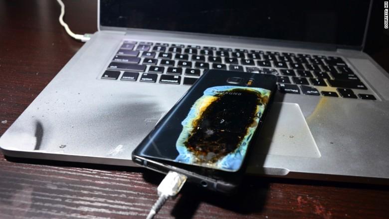 """Galaxy Note 7 """"an toàn"""" vẫn bị tố gây nổ tại Trung Quốc"""