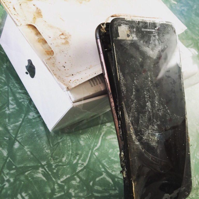 Hết Galaxy Note 7, iPhone 7 cũng dính scandal phát nổ