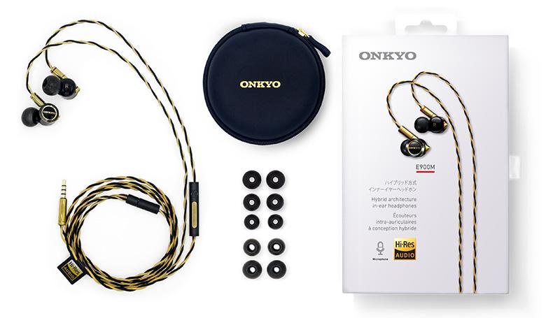 Onkyo ra mắt tai nghe hybrid cao cấp E900MB, giá 8,6 triệu đồng