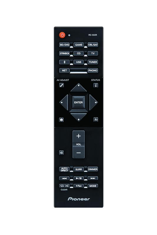 Pioneer VSX-S520, receiver siêu mỏng hỗ trợ Dolby Atmos & DTS:X