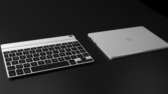 Wi board: Bàn phím biến iPad thành Windows PC trong nháy mắt