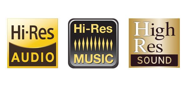 Đâu mới là logo cho tiêu chuẩn Hi-Res ?