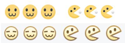 Biểu tượng :v và :3 của Facebook hồi sinh với tạo hình khó đỡ