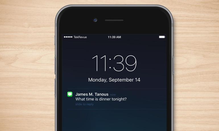 Cách ngăn tin nhắn trên màn hình khóa iPhone khỏi bị đọc trộm