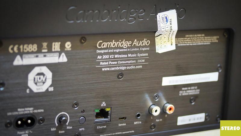 Cambridge Audio Air 200 V2: loa không dây đa chức năng